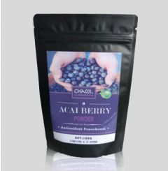 Organic Acai Berry Powder AAA Grade Antioxidant Fat Burner Supplement